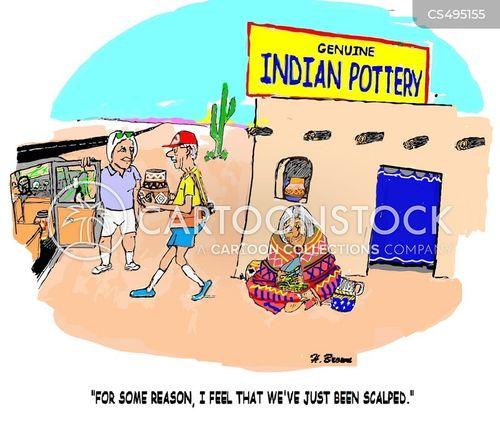 native art cartoon