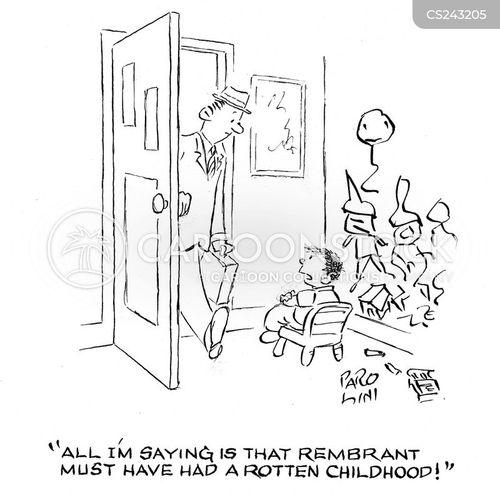 rembrandt cartoon