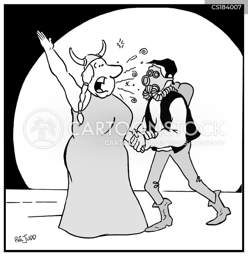 opera singer cartoon