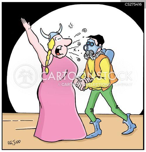 high art cartoon
