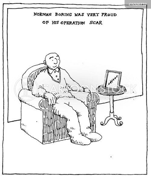 framed cartoon