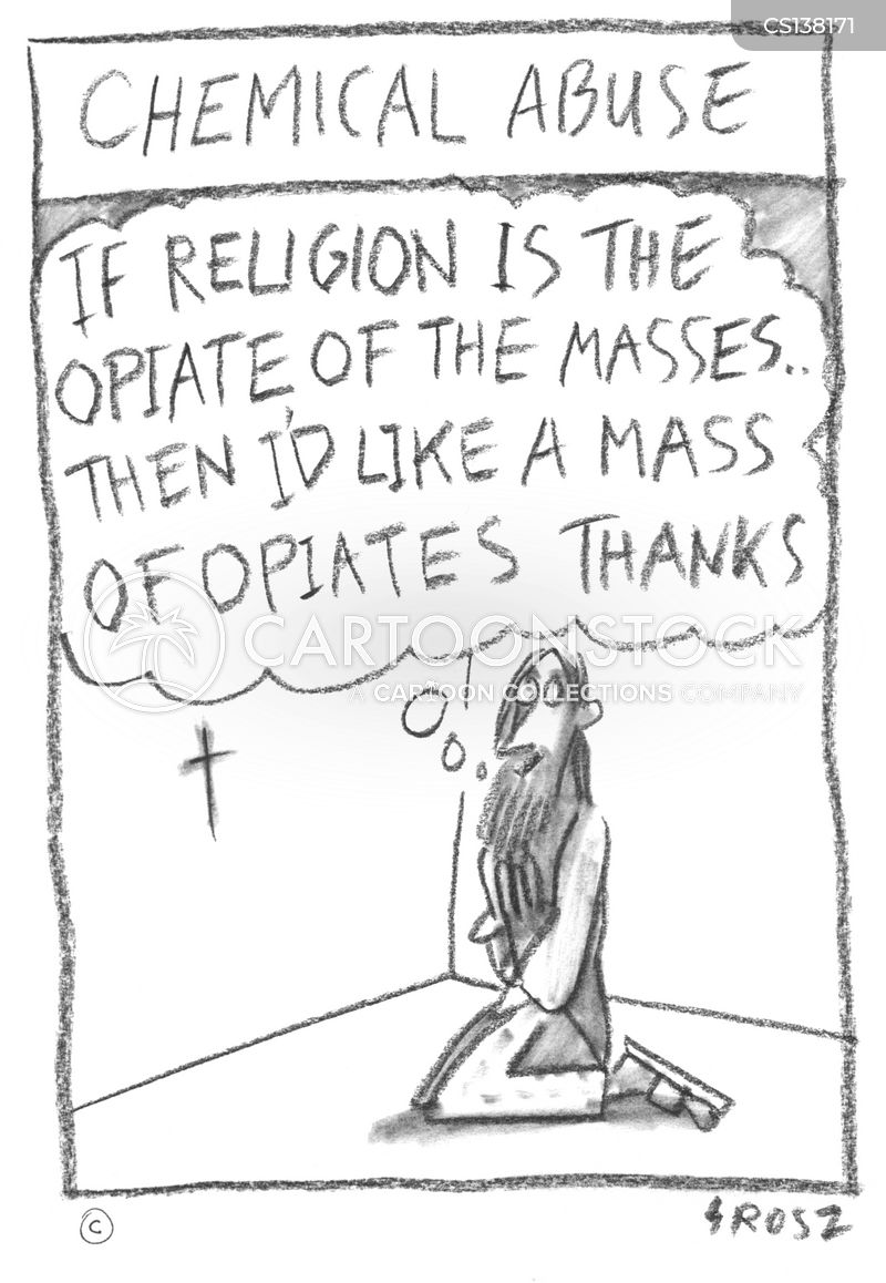 opium of the masses cartoon
