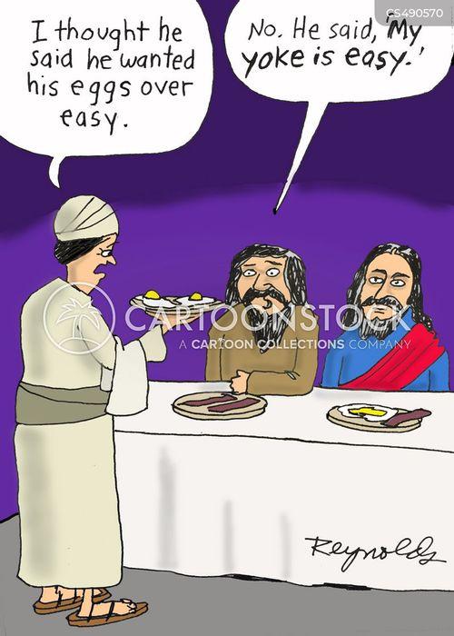 breakfast foods cartoon