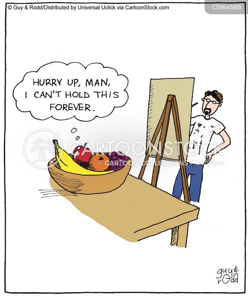 paintings cartoon