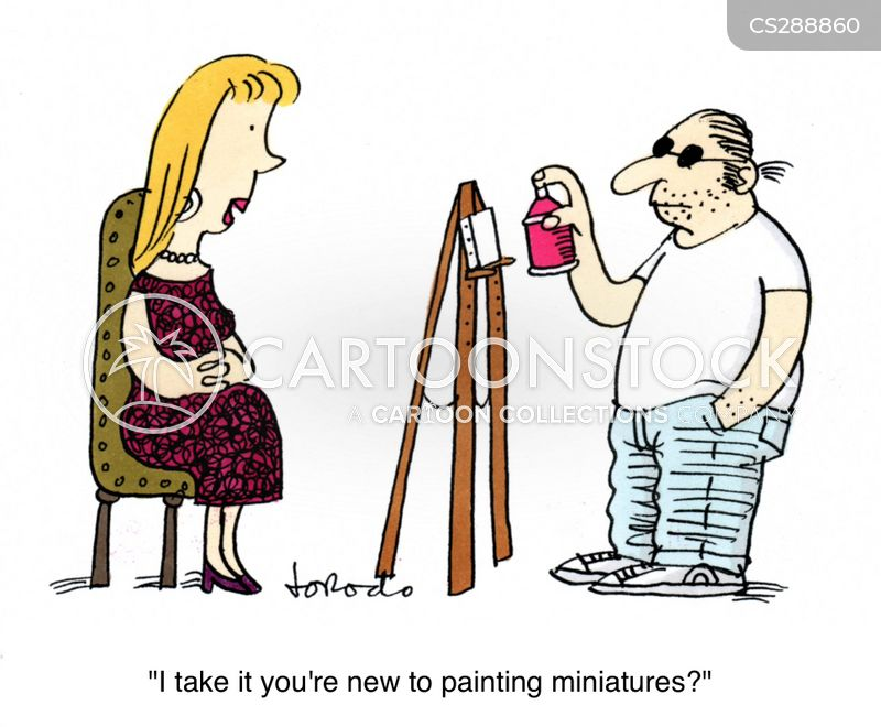 artists models cartoon