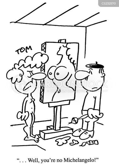 michaelangelo cartoon