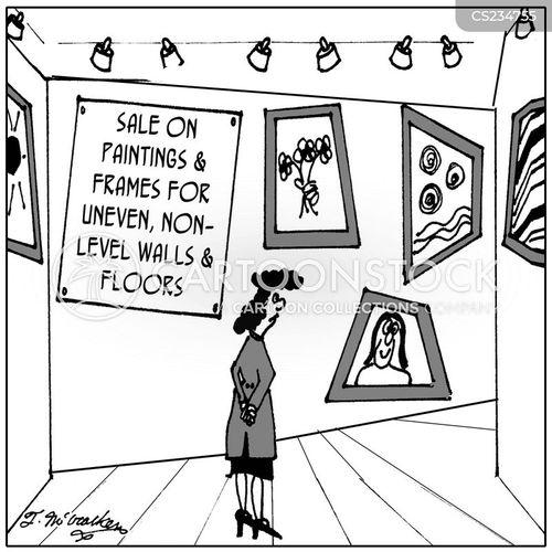 old house cartoon