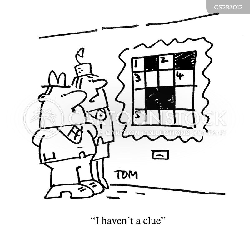Crossword Clue Cartoons and Comics - funny pictures from