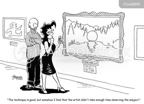 amateur artist cartoon