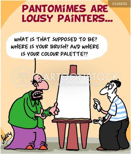 color palettes cartoon
