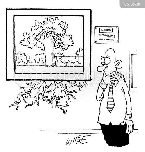 taking root cartoon