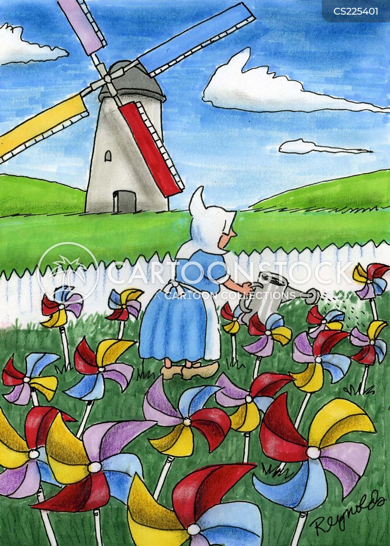 watering cans cartoon