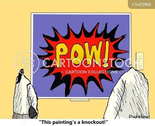 pop artists cartoon