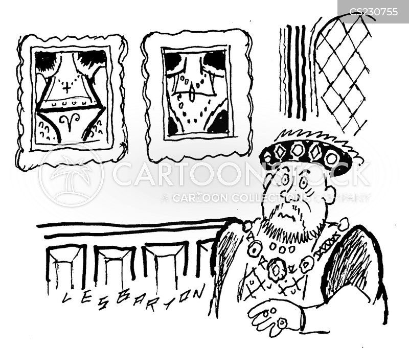 henry 8th cartoon