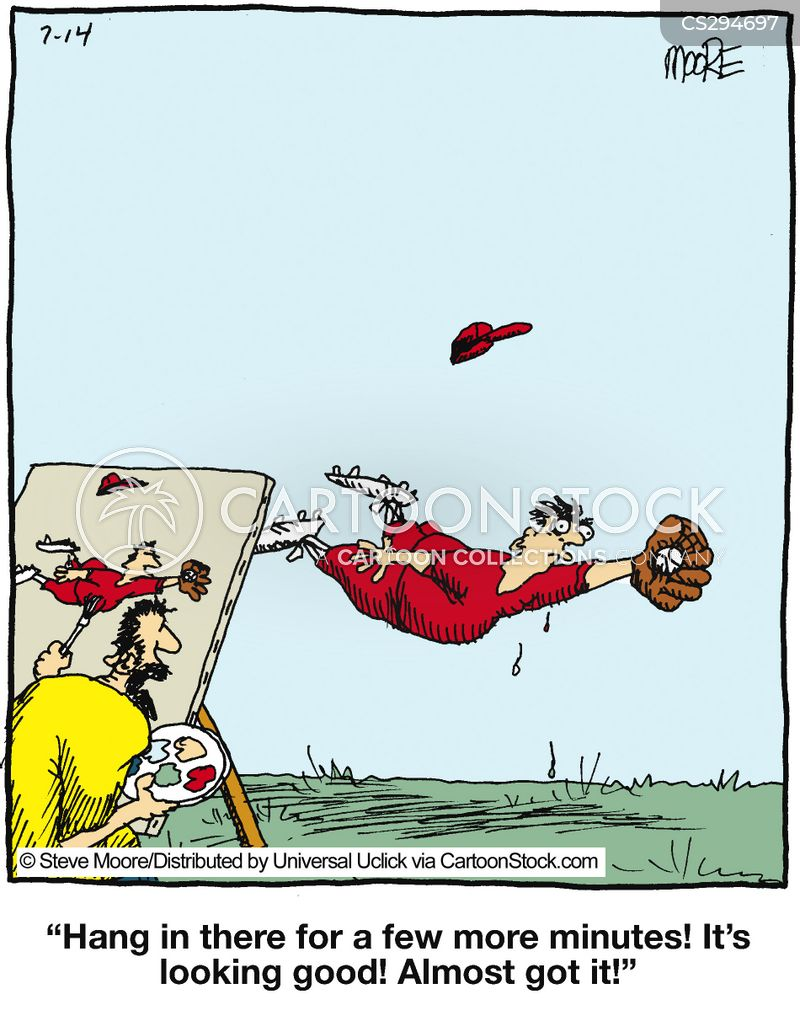 fielder cartoon