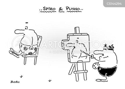 big noses cartoon
