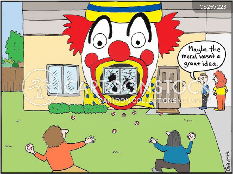 Murals Cartoons And Comics Funny Pictures From Cartoonstock