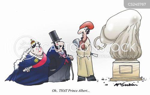 prince albert cartoon