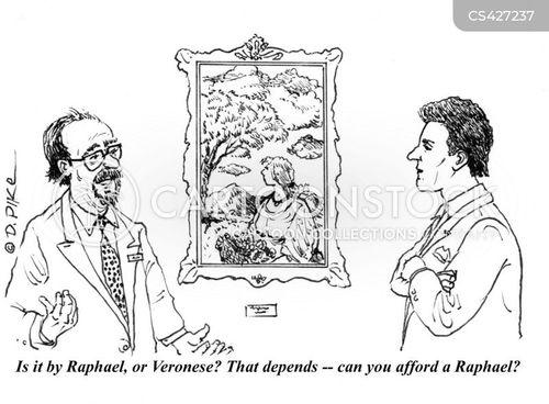 renaissance art cartoon