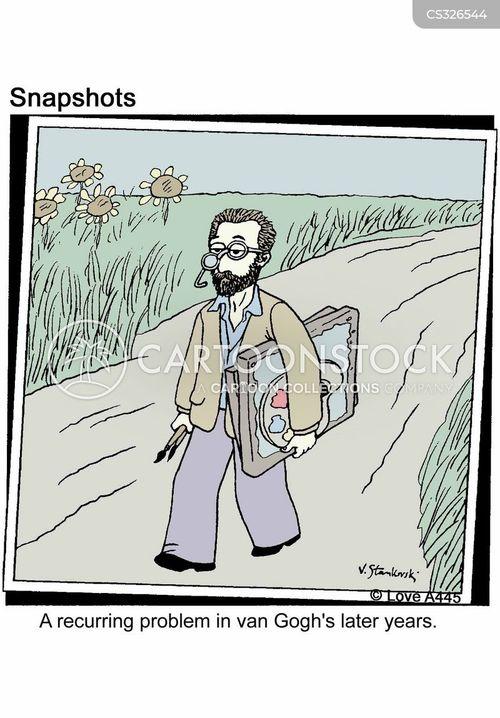 expressionists cartoon