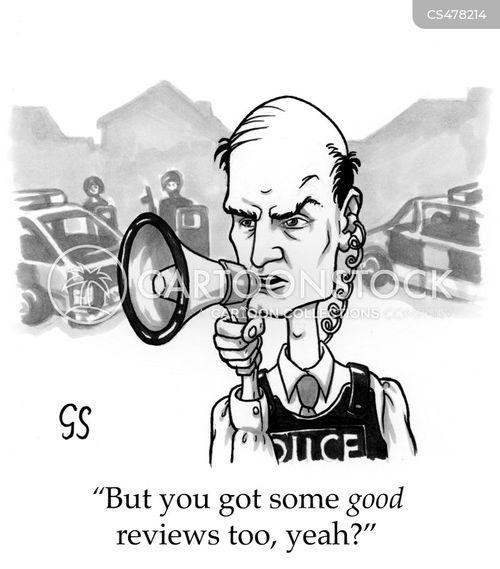 literary criticism cartoon
