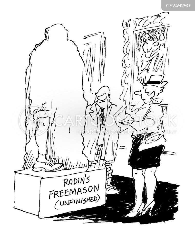 freemasonry cartoon