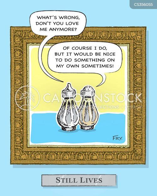 salt shakers cartoon