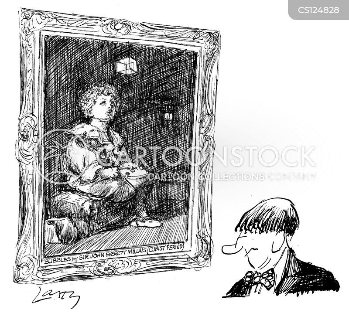 art period cartoon