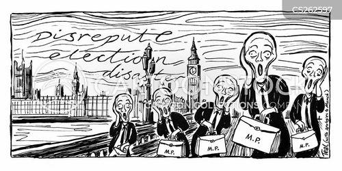 houses of parliament cartoon