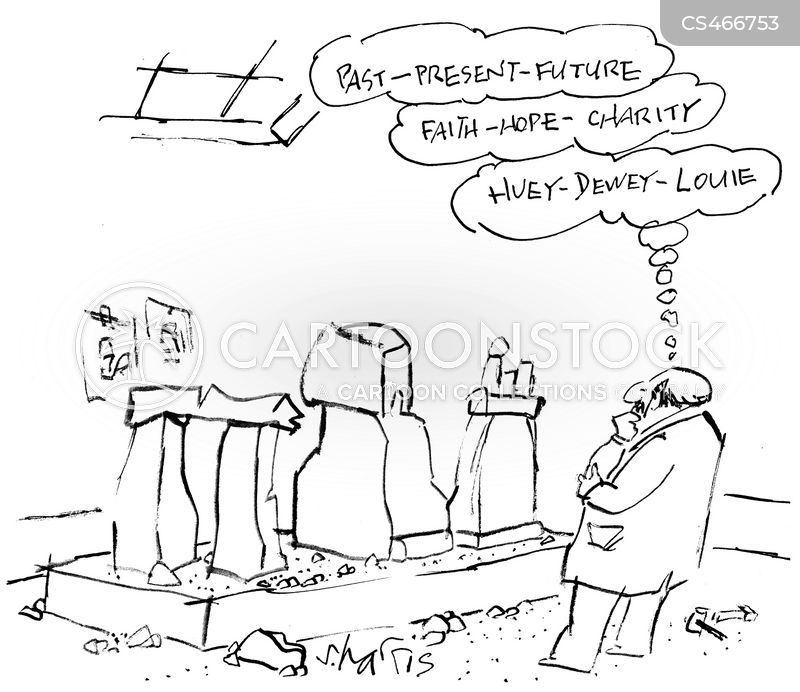 stone sculpture cartoon