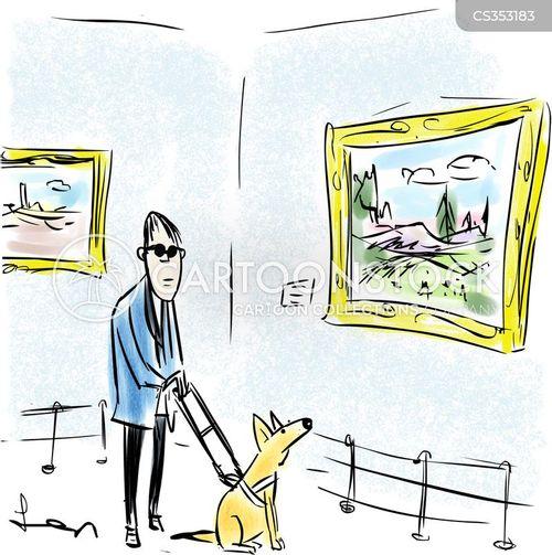 helper dogs cartoon
