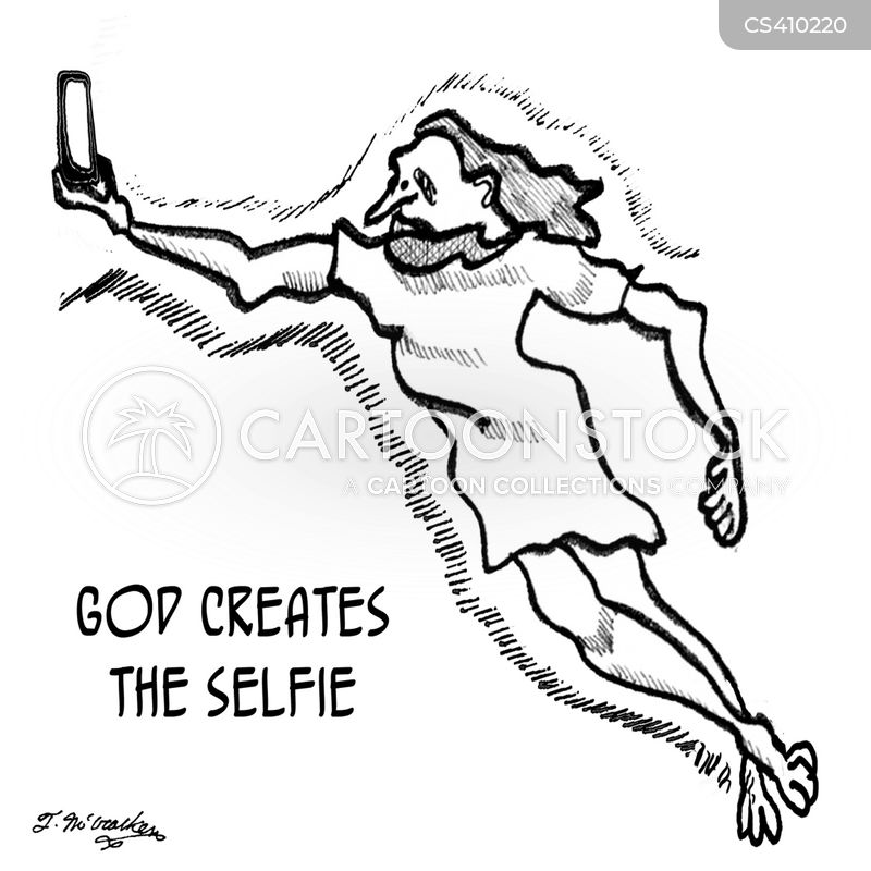 religious art cartoon