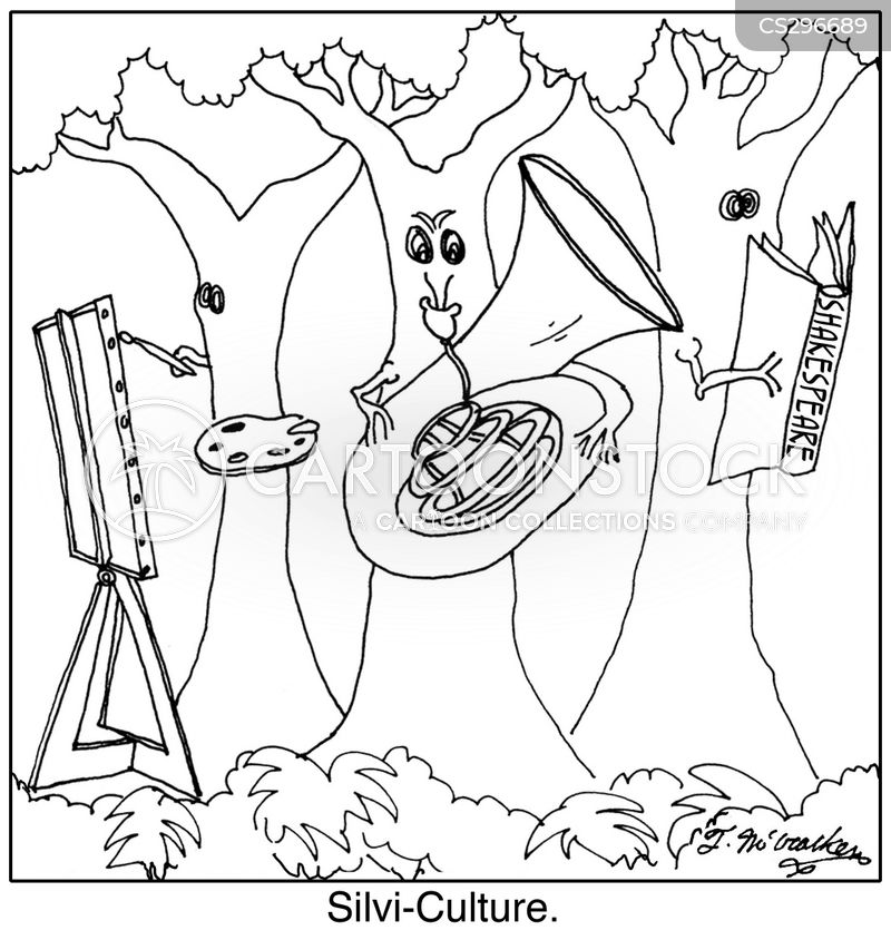 silviculture cartoon