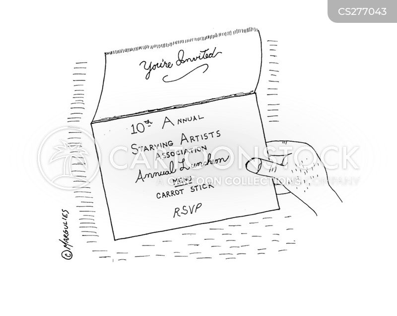 party invitation cartoon