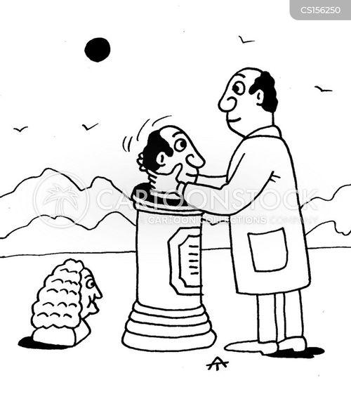 busts cartoon