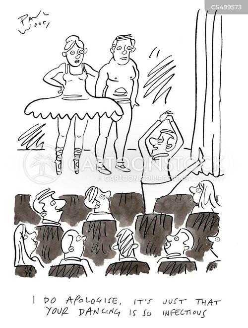 pirouette cartoon