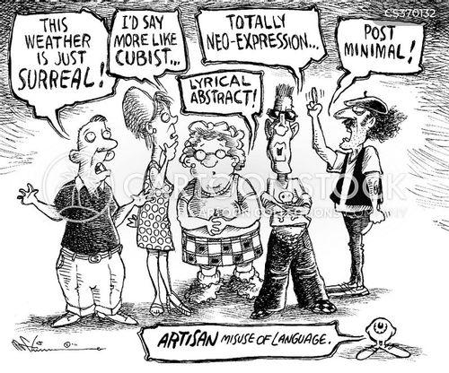 artisans cartoon