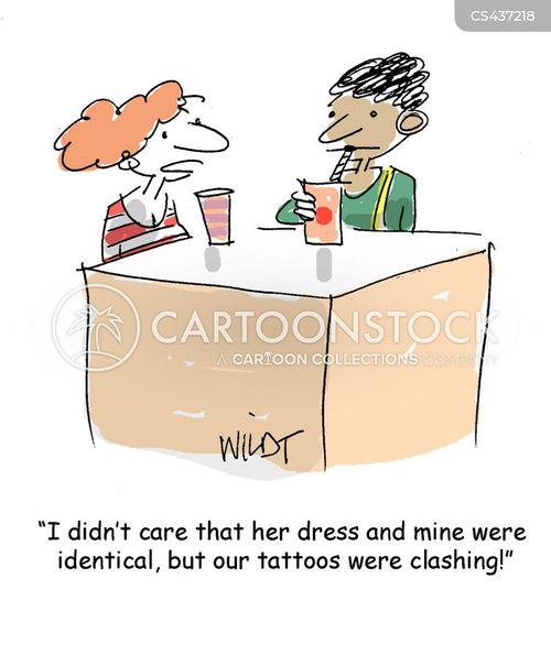 clashes cartoon