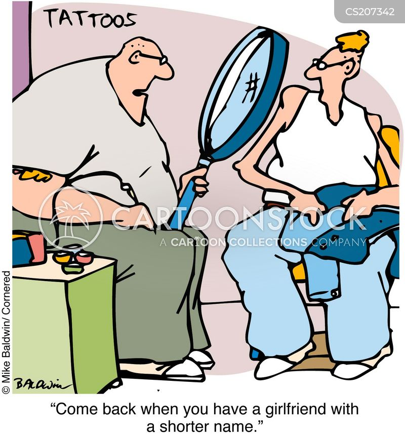 Tattoo Cartoon, Tattoo Cartoons, Tattoo Bild, Tattoo Bilder, Tattoo Karikatur, Tattoo Karikaturen, Tattoo Illustration, Tattoo Illustrationen, Tattoo Witzzeichnung, Tattoo Witzzeichnungen