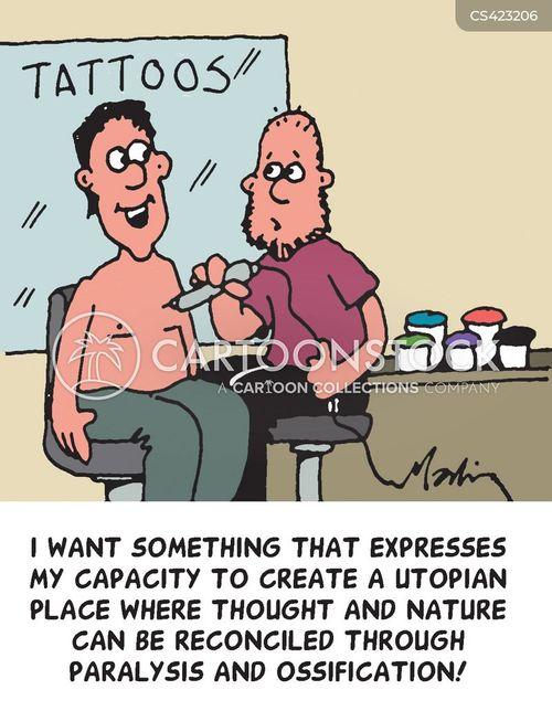 utopia cartoon