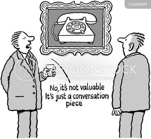 conversation piece cartoon