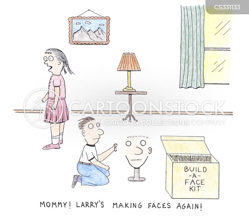 making faces cartoon