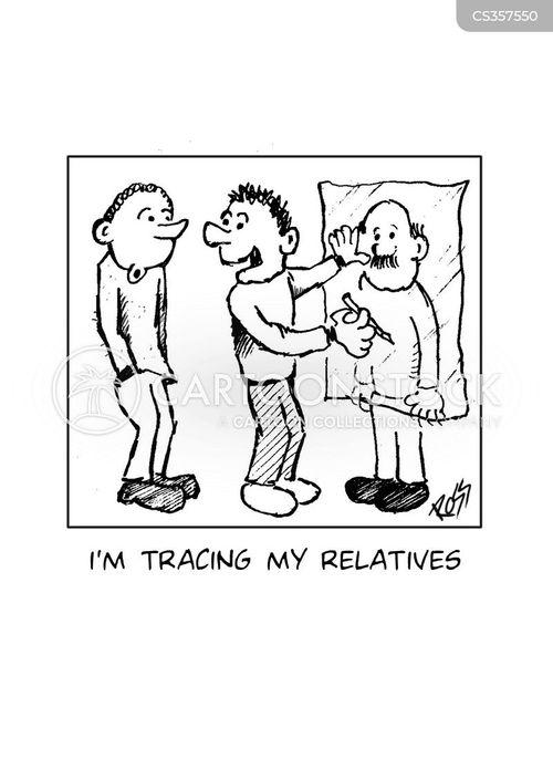 tracing cartoon