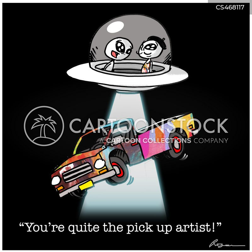 pick up artists cartoon