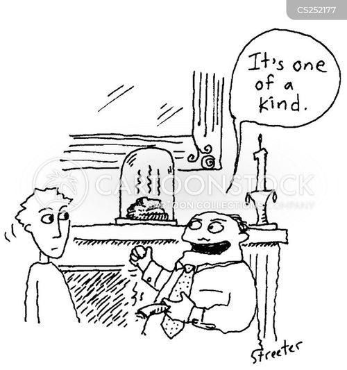 one of a kind cartoon