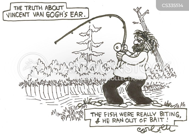 fish bait cartoon