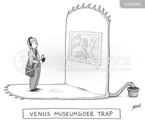 venus flytraps cartoon