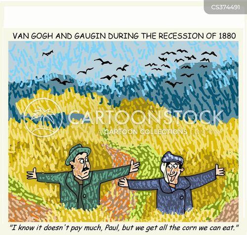 gaugin cartoon