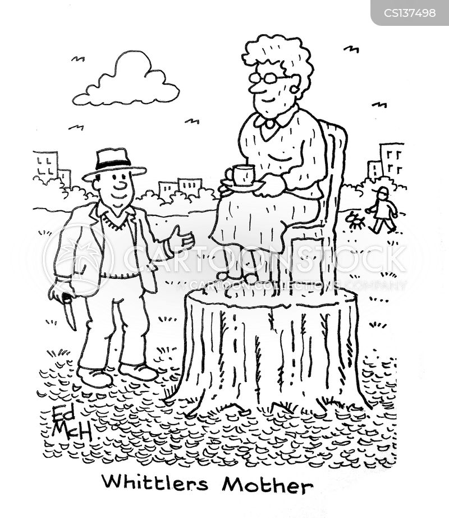 whittler cartoon