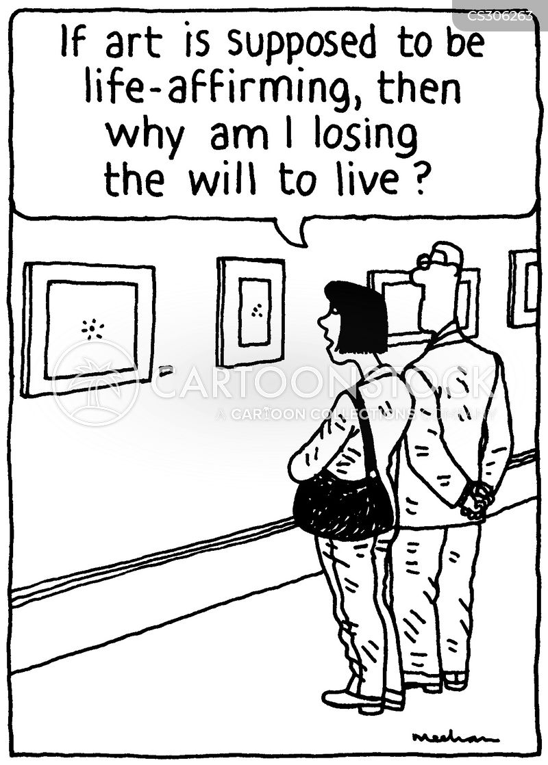 losing will to live cartoon